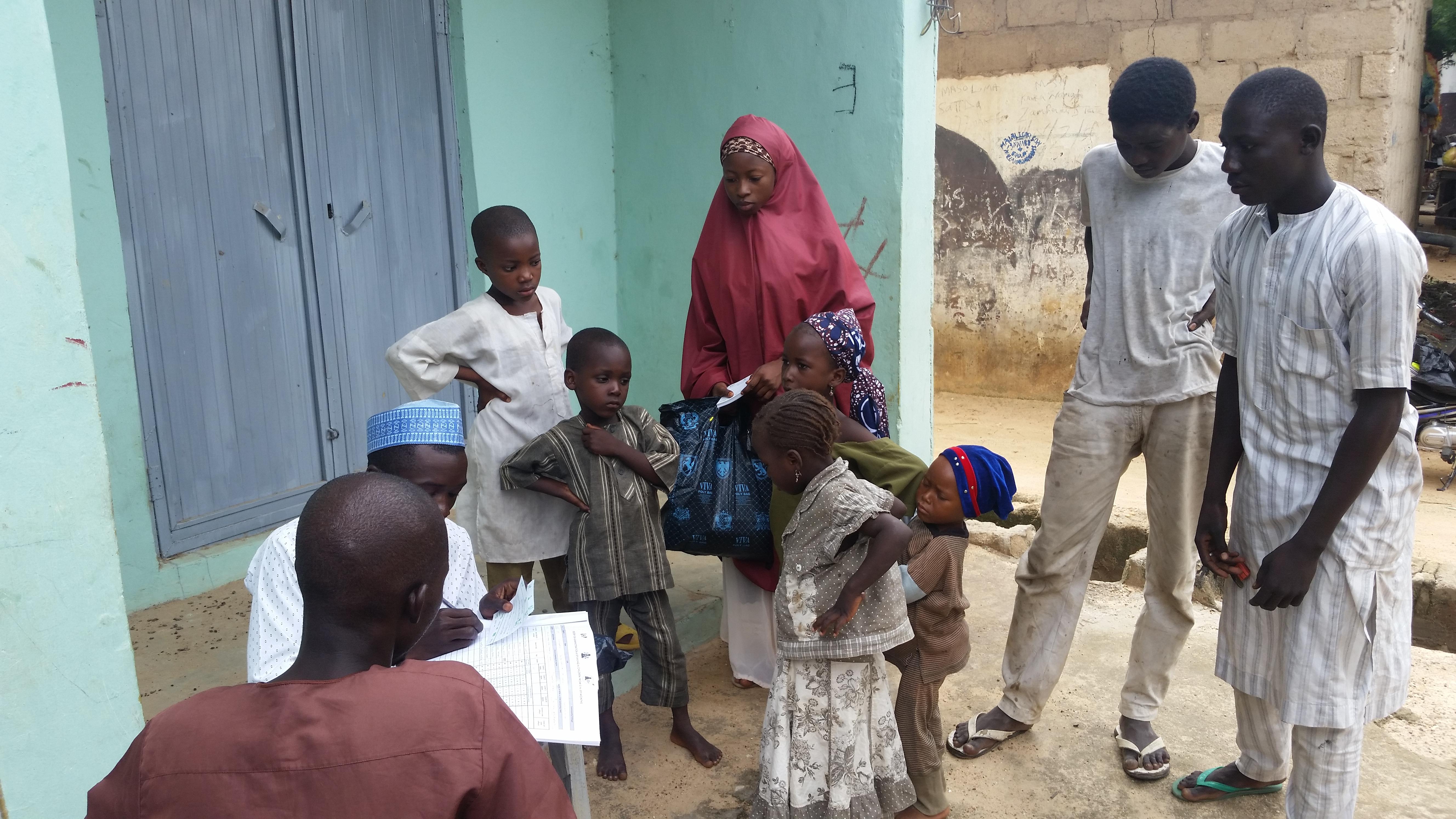 Jedima surveys in villages